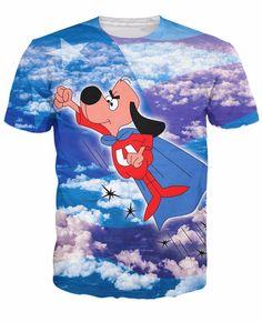 Under Dog Cape Fly USA Flag Cartoon Theme T-Shirt  #UnderDog #Cape #Fly #USA #Flag #Cartoon #Theme #T-Shirt