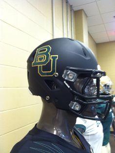 Black Baylor football helmet for 2013 season College Football Uniforms cb0d35532