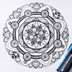 We are the makers of music and dreamers of dreams #mandala #art #drawing #goodvibes #arstagram