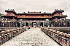 The Citadel - Imperial City - Forbidden Purple City, Hue Vietnam