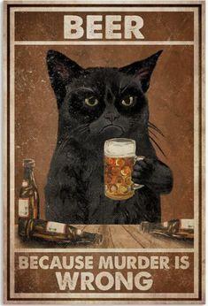 I Love Cats, Cute Cats, Funny Cats, Funny Animals, Crazy Cat Lady, Crazy Cats, Black Cat Art, Arte Obscura, Cat Posters