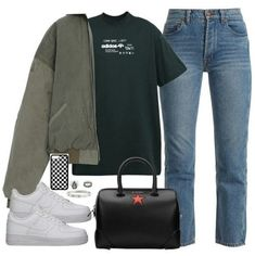 Designer Clothes, Shoes & Bags for Women Lazy Outfits, College Outfits, Korean Outfits, Everyday Outfits, Stylish Outfits, Fashion Outfits, Women's Fashion, Virtual Fashion, Outfit Goals