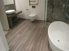 wood floor in bathroom @ quick-step.com
