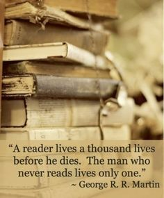 Reading is so powerful, we reading we understand how powerful our imagination is.  #imagination #life #quote #reading #books