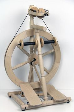 Louet S80 Olivia - Scotch Tension wheel, new for Summer 2013 (picture shows prototype)