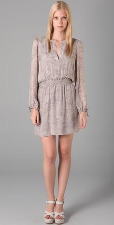 another bridesmaid dress idea #wedding #bridesmaid #dress #gray