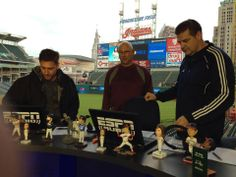 Mike & Mike's trip to Cleveland with Terry Francona. Mike And Mike, Espn, Cleveland, Baseball Cards, Sports, Hs Sports, Sport