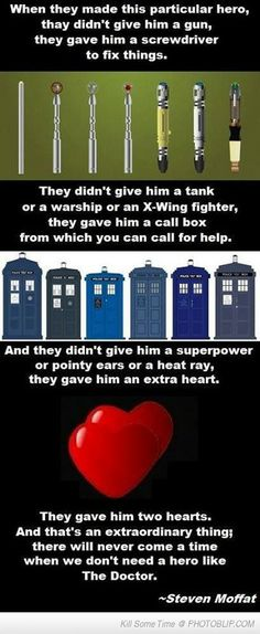 Moffat On Doctor Who . ♥♥