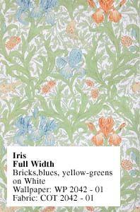 Historic Style - Iris by William Morris