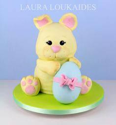 Easter Bunny Cake by Laura Loukaides