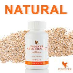 Forever Absorbent-C Étrend-kiegészítő rágótabletta édesítőszerrel és mézzel C vitamin, méz, citrus bioflavonoidok, papaja por és zabkorpa #gabokakucko