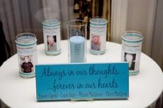 Memorial table for my wedding- like the saying on the sign. Maybe just pictures instead of candles though. Wedding 2015, Wedding Wishes, Summer Wedding, Our Wedding, Dream Wedding, Casino Wedding, Memory Table, Reception Party, Reception Decorations