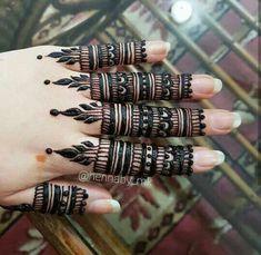Simple Mehndi Designs Fingers, Finger Mehendi Designs, Engagement Mehndi Designs, Full Hand Mehndi Designs, Mehndi Designs For Girls, Mehndi Designs For Hands, Henna Tattoo Designs Simple, Henna Art Designs, Beautiful Henna Designs