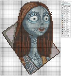 The Nightmare Before Christmas – Sally 60-70 x 70-80, Birdie's Patterns, Disney, Gaming, Kingdom Hearts, The Nightmare Before Christmas, The Nightmare Before Christmas 0 Comments Oct 162015
