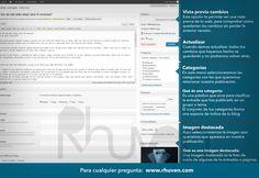Tutorial WordPress completo en PDF, totalmente gratuito. Espero que os sirva para poder crear vuestras propias webs o actualizar vuestros...  http://www.rhuven.com/tutorial-de-wordpress-completo/