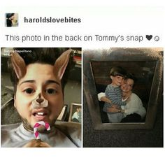 My heart  tommy is Lottie's Boyfriend for anyone who doesn't know...