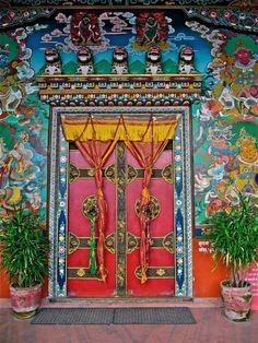 Kathmandu, Nepal Hope I see this door when I'm in Kathmandu in a few months!