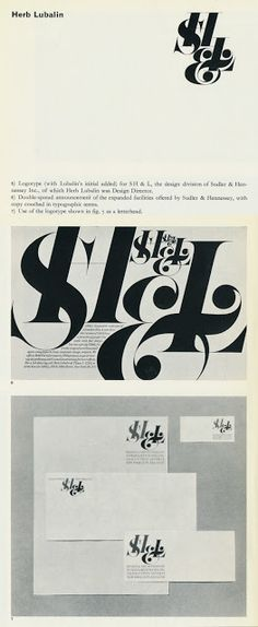Tenth Letter of the Alphabet: Creator: Herb Lubalin, Part 8