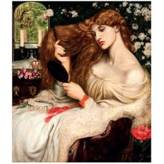 Lady Lilith poster from The Tate - my hair inspiration...