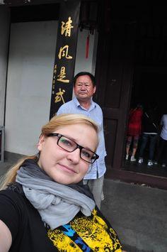 Wraz z dwójką Polaków udałam się do Ogrodu Balsamicznego (Xu Yuan), na którego terenie mieści się Pałac Prezydenta, skąd rządził m. in. Sun Jat-Sen.