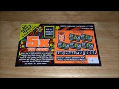 New 5x The Cash NC Lottery Top Prize $10,000