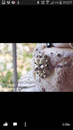 Wedding cake by bella ada cake design