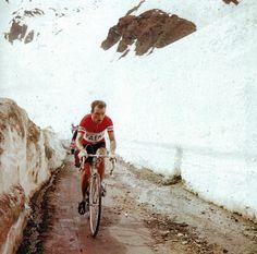 Charly Gaul 1956 Giro Italia | Cycle Sport | Giro d'Italia: Scenic Images of the Race.