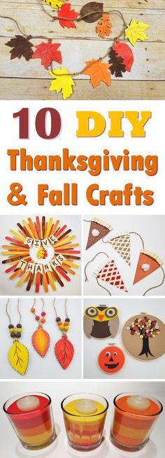 10 DIY Fall & Thanksgiving Craft Ideas - S&S Blog