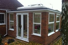 Self-build conservatories are the cheapest, fastest and most efficient way to extend your home. Build your own DIY conservatory today & save thousands. Orangery Conservatory, Garden Studio, Build Your Own, Shed, New Homes, Outdoor Structures, Windows, Doors, Building