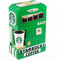 SAM Labs - Build Your Own LEGO Starbucks Coffee Maker