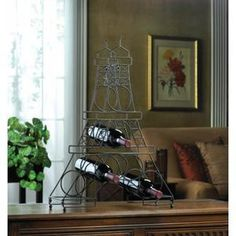 Eiffel Tower Wine Holder - AC Treasures | Scott's Marketplace
