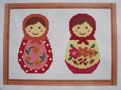 babushka cross stitch patterns