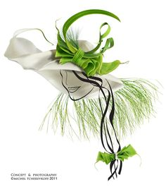 TCHEREVKOFF, has made the most unusual work by creating shoes, bags and hats out of plants. He uses real flowers and stems twisting, knotting, weaving and tying them to bring floral delights to heel. These photos are then manipulated in Adobe Photoshop to give them the proper footwear, or head shape shape.