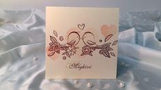 135 75 – Esküvői meghívók Place Cards, Place Card Holders, Projects, Log Projects, Blue Prints