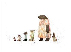 Extra Yarn page 9a (Animal Sweaters), Jon Klassen