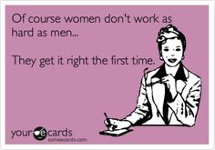 Mulheres trabalham menos que homens