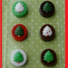 Christmas Tree Oreo Candy Mold