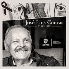 #DEP José Luis Cuevas, integrante de la Generación de la Ruptura, una de las figuras más relevantes de la plástica mexicana del siglo XX. #Anticonformista #EnfantTerrible #PinturaMexicana