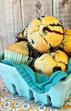 Vegan Blueberry Muffins Recipe on Yummly. @yummly #recipe