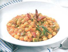 Spicy Tomaten Kichererbsen Ragout