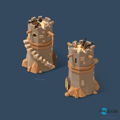 Models for a kickstarter game «Pirates of the polygon sea»