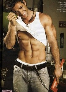 William Levy - Cuban-American actor/model.  I have never heard of him, but he's in a new Jennifer Lopez video.  It will be nice if he sticks around a while!