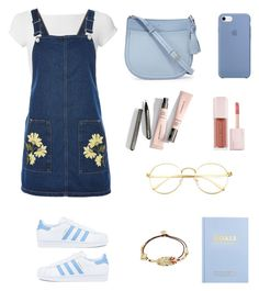 """""""University Outfit"""" by lilyhastings98 on Polyvore featuring moda, Helmut Lang, Topshop, adidas, Kate Spade, Puma, Gas Bijoux ve kikki.K"""