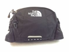 North Face Kanga Black Travel Hiking Waist Bag Fanny Pack Rump Bag  #TheNorthFace