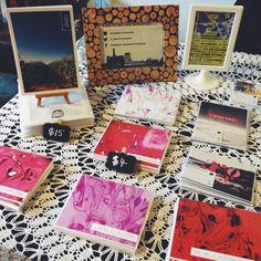 The Little Talks set up at the Annex Flea on Feb. 8, 2015