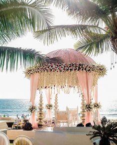You are your daddy princess and you deserve that extraordinary Barbie wedding. Goa Wedding, Wedding Mandap, Wedding Receptions, Trendy Wedding, Indian Wedding Theme, Church Wedding, Indian Weddings, Wedding Groom, Wedding Card