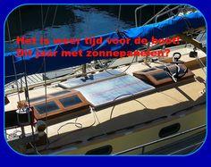 Heerlijk weer vandaag, tijd om weer het water op te gaan. Maar misschien eerst zonnepanelen installeren? http://houhetwarm.nl/hoe-werkt-een-zonnepaneel-op-de-camper/