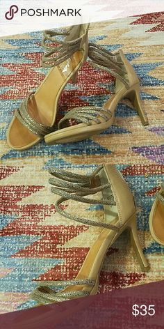 Seychelles nude beige party heels About 4 inch heels, size 8. Worn once ever for a wedding. Works with just about anything because of the color! Seychelles Shoes Heels