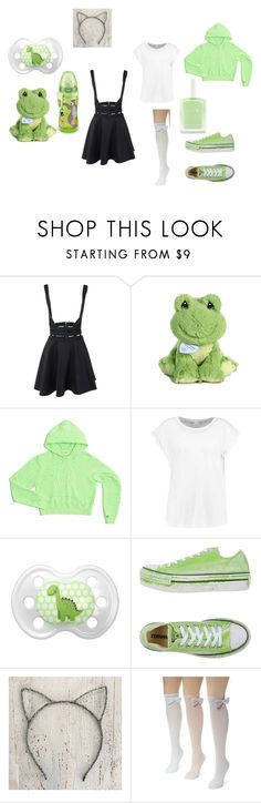 """""""#28{DDLG - Little}"""" by ofowlandwolf1617 ❤ liked on Polyvore featuring Precious Moments, Converse, Disney, Muk Luks, littlegirl and ddlg"""