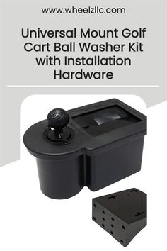This permanent golf cart mount golf ball cleaner is the perfect solution for dedicated golfers. The durable bristles in this unit quickly clean your club face and ball. Yamaha Golf Carts, Golf Cart Parts, Custom Golf Carts, Club Face, Golf Accessories, Golfers, Mounting Brackets, Golf Ball, Carbon Fiber